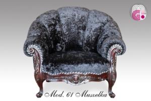Fotel Muszelka 2