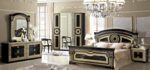 Sypialnia Aida Black Gold