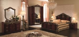 Sypialnia Luxor Mahogany